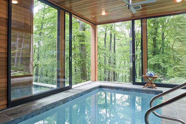Stylish Indoor Pool