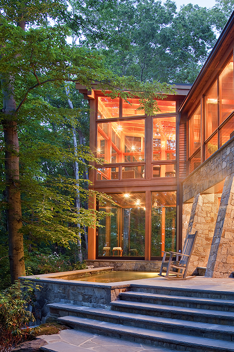 Retreat in the Woods